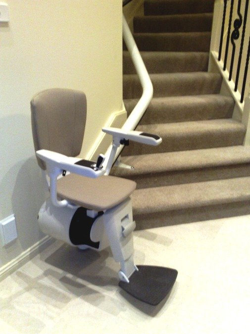 Open Flow 2 Curved Rail Stairlift
