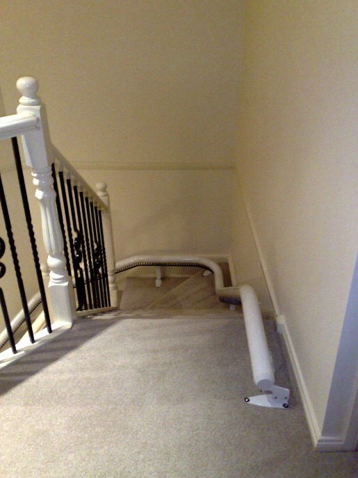 Rail of indoor Stairlift