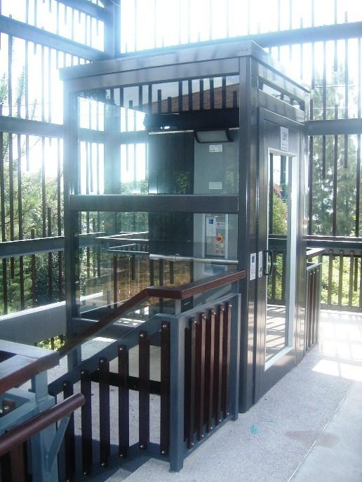 Thyssenkrupp Commercial Outdoor Vertical lift