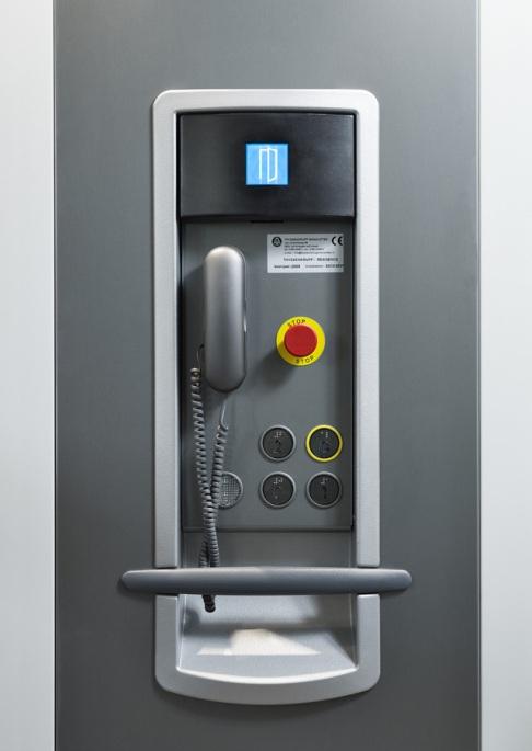 Thyssenkrupp Vertical lift Functionality Button Module