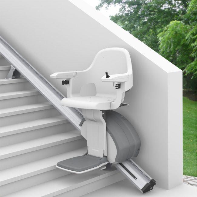 Outdoor Straight Rail Stairlifts