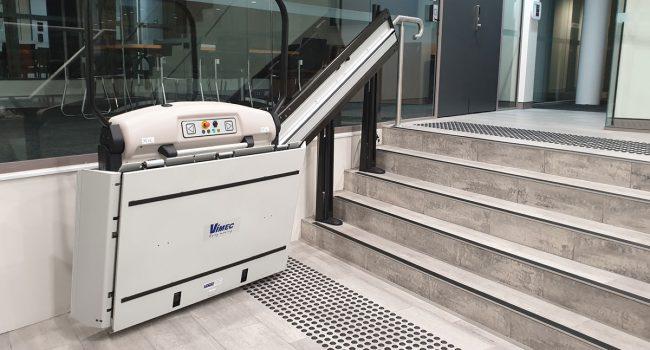 VIMEC Straight Rail Platform Stairlift