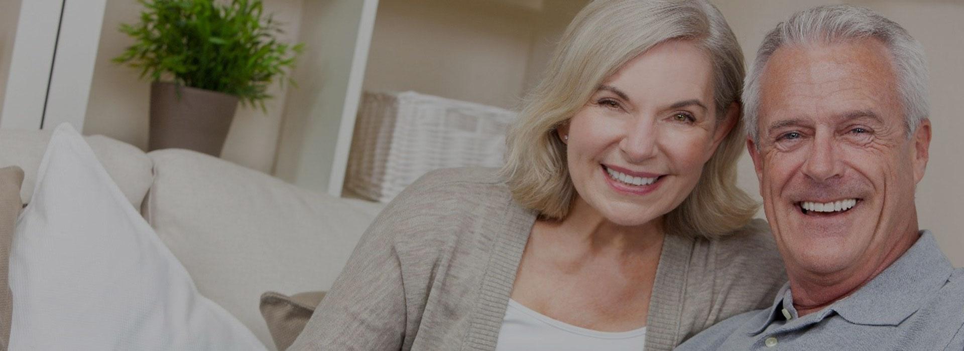 AussieGlide Stairlift Solution smiling Elder Couple Silder Image